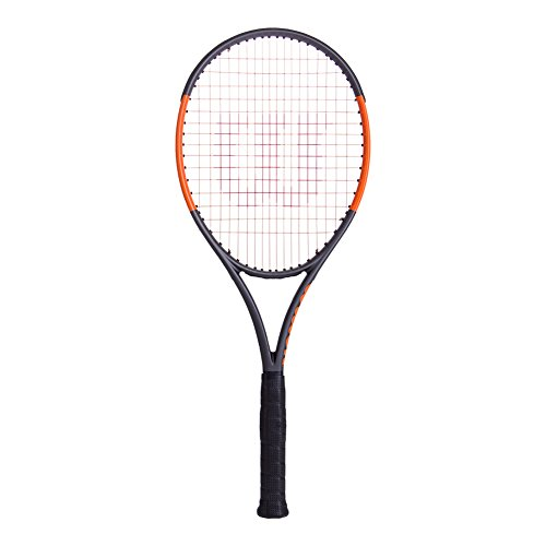 WILSON Burn 100LS Unstrung Tennisschläger, Schwarz, 36
