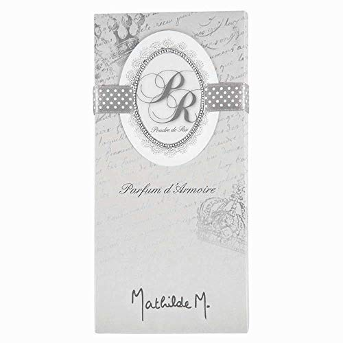 Mathilde M : Tablette Parfumée Médaillon : Poudre De Riz
