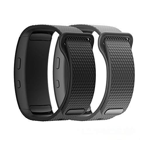TOPsic Armband für Samsung Gear Fit2 / Gear Fit 2 Pro Armband, Ersatz Silikon Armband Armband Uhrenarmband für Gear Fit 2 Pro SM-R365 / Gear Fit2 SM-R360