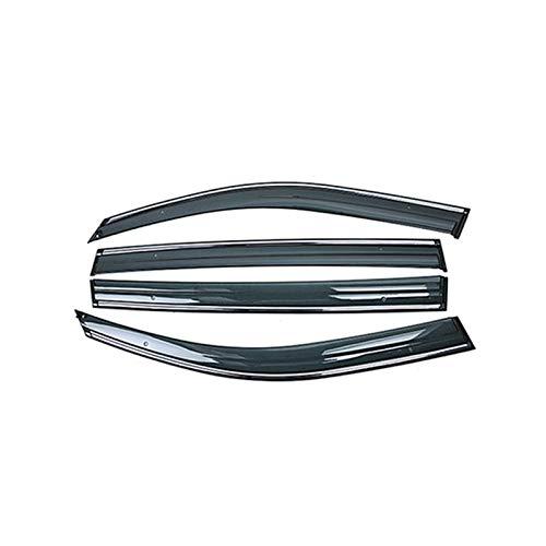 HKPKYK Für Subaru Outback 2009-2014, Auto Autofenster Sonne Regenschirm Visiere Schild Markisen Schutz Schutz Abdeckung Zierrahmen Aufkleber