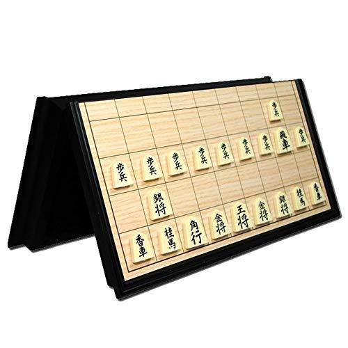 Yishelle Schachspiel Travel Set Game Pieces Collapsed Das Schachbrett Magnetic Pieces Travel Wird Sich bewegen Geschenk geben Spielsteine Für Kinder, jüngere, Erwachsene Spielen