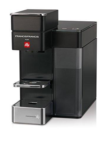 Preisvergleich Produktbild Francis Francis for Illy 60068 Y5 Duo Espresso & Coffee Machine,  Black by Francis Francis for illy