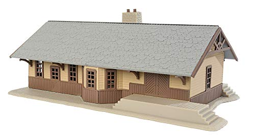 Walthers Trainline HO Scale Model Iron Ridge Station