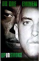 キャラクターポスター、映画ポスター、EMINEM & DR. DRE エミネム (The Slim Shady LP20周年記念) - Up In Smoke ポスター A3サイズ(42x30cm)