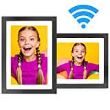 MRQ WiFi Digital Picture Frame 10 Inch IPS Touch Screen, HD Display 16G Storage, Auto Rotate, Digital Photo...