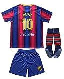 Da Games Youth Sportswear 10 Kids Home Soccer Jersey/Shorts Football Socks Set (Navy, 4-5 YEARS OLD)