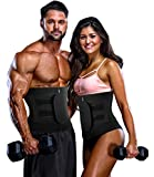 COMFREE Mujer Fajas Reductoras Waist Trainer Entrenador de Cintura Adelgazantes Waist Trimmer Fitness Neopreno con Bolsillo Negro S