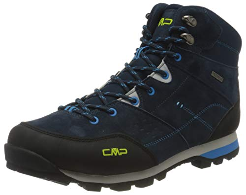 CMP Herren ALCOR MID Trekking Shoes WP Walking Shoe, Blue Ink, 45 EU