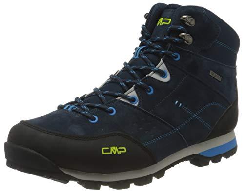 CMP Herren ALCOR MID Trekking Shoes WP Walking Shoe, Blue Ink, 41 EU