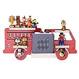 BOARTI Kinder Regal Feuerwehr small in Rot, Feuerwehrauto geeignet für die Toniebox und ca. 20 Tonies - zum Spielen und Sammeln