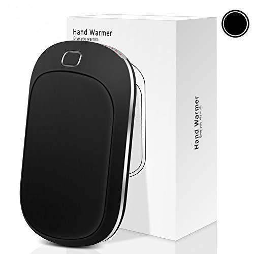 Sendowtek Scaldamani Elettrico USB 5200mAh Power Bank Caricatore Portatile Riutilizzabile Scaldamani Ricaricabile Tascabili con 4 Livelli di Riscaldamento Batteria Esterna per Smartphone, Tablet