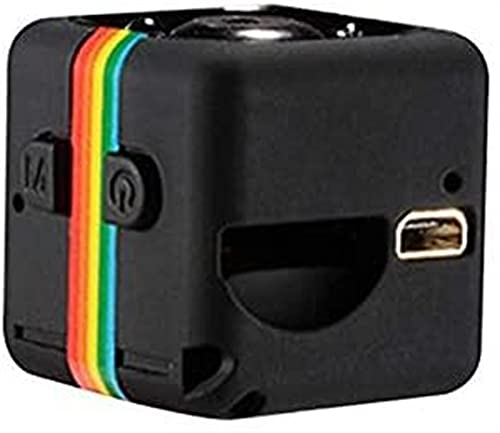 Mini cámara SQ11 Full HD Deportes Micro Detección de Movimiento Videocámara Infrarrojo Visión Nocturna Grabadora de vídeo Gran Angular - Negro JIADUOBAO
