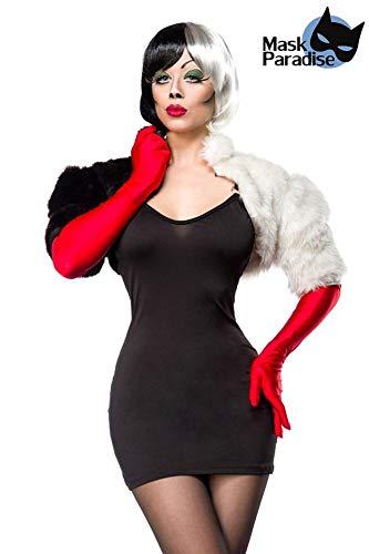 Cruel Lady Kostüm 80036 - 3-teiliges Faschingskostüm von Mask Paradise (L)