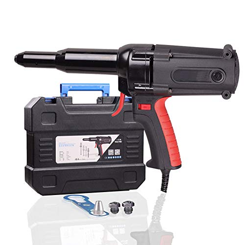 220V / 600W eléctrica Ciegos remachadora, pistola remachadora de 6,4 mm para...