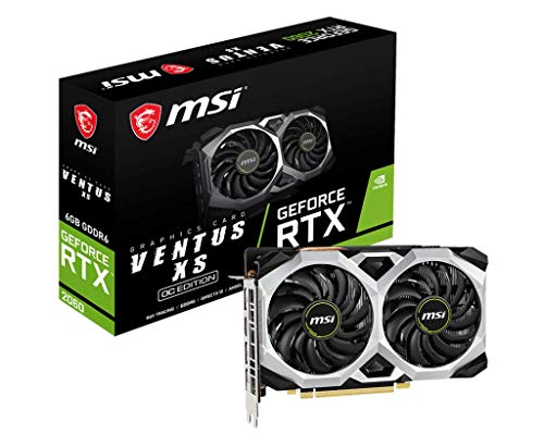 MSI GeForce RTX 2060 Ventus XS 6G OC, Procesor, 5, Multicolor