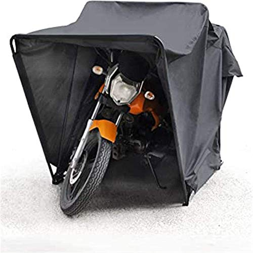 N\A ZT Outdoor Motorbike Bike Tent Cover Shed Storage Garage Weatherproof Motorcycle Moped Mobility Scooter