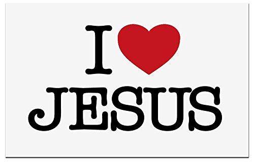 MaMeMi Aufkleber I Love Jesus