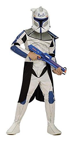 Rubie's 341086 3 41086 L - Clonetrooper Captain Rex Small Box Set Kostüm, Größe L, blau