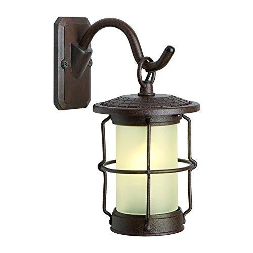 2 x Techmar 12v Callisto Wall Lantern - LED - 2w - Outdoor Garden Lighting