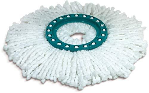 Leifheit Tête de rechange Twist Ersatzkopf clean Mop, Kunststoff, Grün, One Size