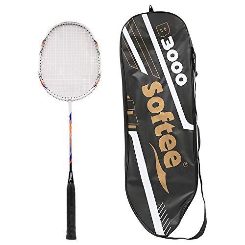 Softee Equipment 0006104 Raqueta B3000, Unisex, Blanco, S