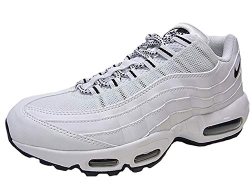 [ナイキ] AIR MAX 95 WHITE/BLACK/BLACK 【26.0cm~28.5cm】 [並行輸入品]