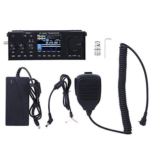 Funk-Transceiver, 1,8-30 MHz HF-SDR-Band-Transceiver Multifunktionales Kurzwellen-Intercom-Gerät für Fahrzeugfunk