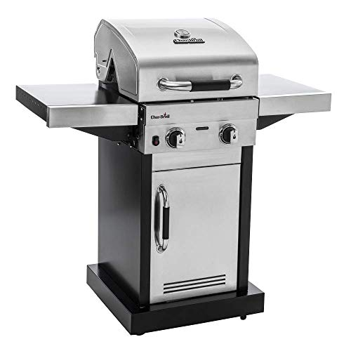 Char-Broil Advantage Series 225S - 2 Burner Gas Barbecue Grill with TRU-Infrared Technology, Stainless Steel Finish