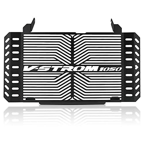Protector Parrilla Radiador De Moto para Suzuki VSTROM 1050 2020-2021 Protector De Rejilla Tanque Agua Diseño Tallado Hueco Motocicleta Protector Radiador Cubierta Malla Aleación