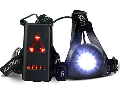 ATNKE LED Chest Torch, USB Rechargeable Night Running Light Lamp,Bright...