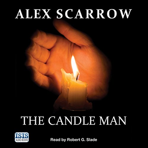 The Candle Man audiobook cover art