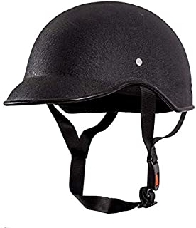 DEVEW™ All Purpose Safety Helmet with Strap (Black, Free Size)