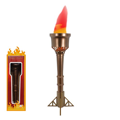 Fun Central AY956, 33cm LED Olympic Torch Light, Olympic Decoration, Olympic Party, Olympic Torch, Outdoor Activities, Olympic Flame, and Giveaways