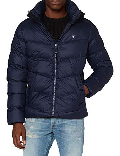 G-STAR RAW Herren Whistler HDD Puffer' Jacket, Sartho Blue B958-6067, Large