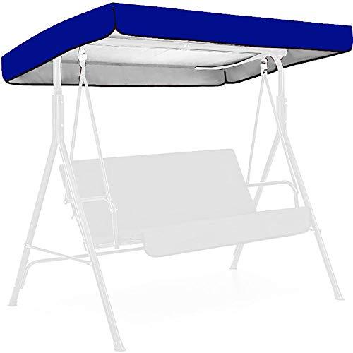 rgbh Gartenschwingdeckel   wasserdichte Swing-Baldachinabdeckung   2/3 Seat Swing Chair Cover Für Park Outdoor E-195 * 125 * 15/20cm