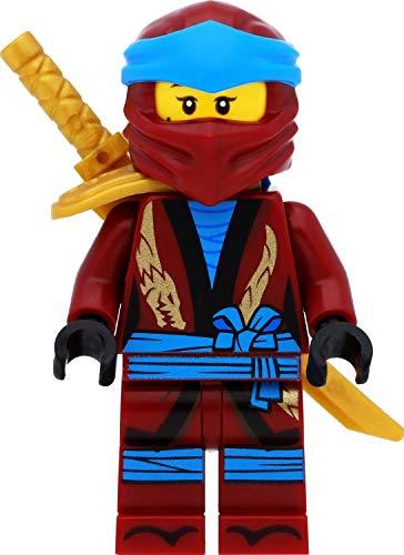 LEGO Ninjago Minifigur: NYA (Legacy) mit Schulterrüstung und Schwertern