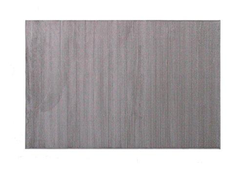 Alfombrista Lisa Alfombra, Acrílico, Gris, 160 x 230 cm