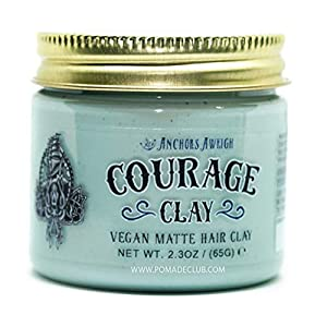 Beauty Shopping Anchors Hair Company Courage Clay – Natural Vegan Hair Clay (2.3 Oz)