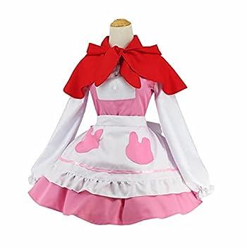 Tugia Kanna Kamui Costume,Anime Miss Kobayashi s Dragon Maid Cosplay Dress Outfit  L