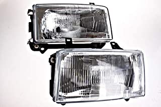 Headlights Front Lamps LEFT+RIGHT compatible with VW Transporter T4 1996-2003