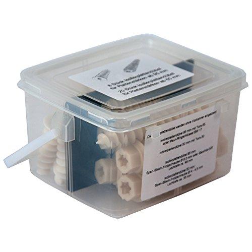Isolierplattendübel, ISO Dübel, Dämmplattendübel 28-tlg. im praktischen Henkeleimer