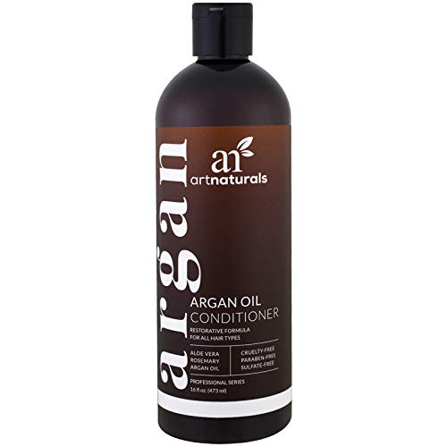 Artnaturals - Acondicionador de aceite de argán, fórmula regeneradora,...