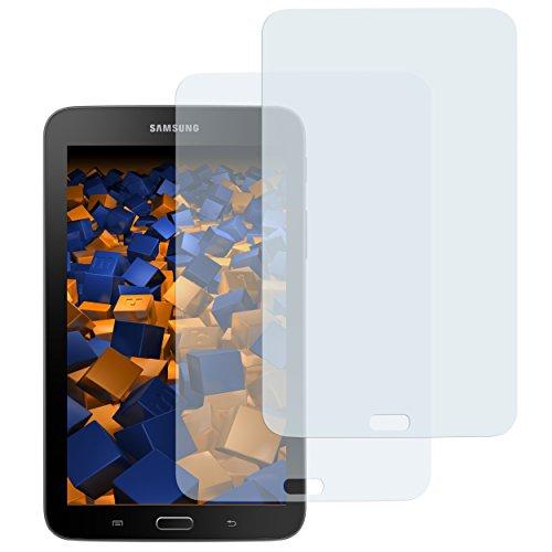 mumbi Schutzfolie kompatibel mit Samsung Galaxy Tab 3 Lite Wi-Fi Folie klar, Bildschirmschutzfolie (2X)