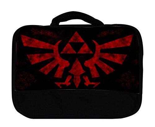 Red Triforce Canvas Lunch Bag by Demon Decal