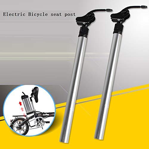 SHIJING elektrische fiets stoel post 31.8mm 33.9mm aluminium schokabsorptie stoel buis vouwstoel pijp elektrische fiets accessoires