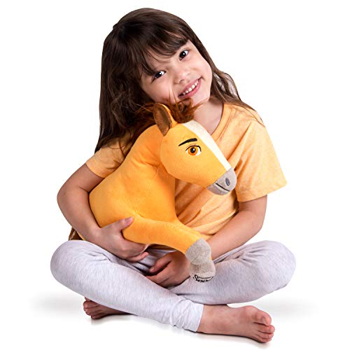 Franco Kids Bedding Super Soft Plush Snuggle Cuddle Pillow, Spirit Riding Free Horse