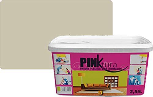 Pintura plástica Alta Decoración PINKTURA 2,5 litros (Gris Perla)