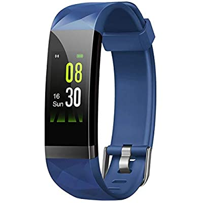 Letsfit Fitness Tracker, Activity Tracker Watch with Heart Rate Monitor, IP68 Waterproof Fitness Wristband with Step Counter, Calorie Counter, Smart Watch for Kids, Women and Men