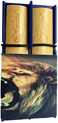 Sale SALE% OFF Blue Indianapolis Mall Clarinet Lion Rockin' Reed by Lescana Holder Reeds
