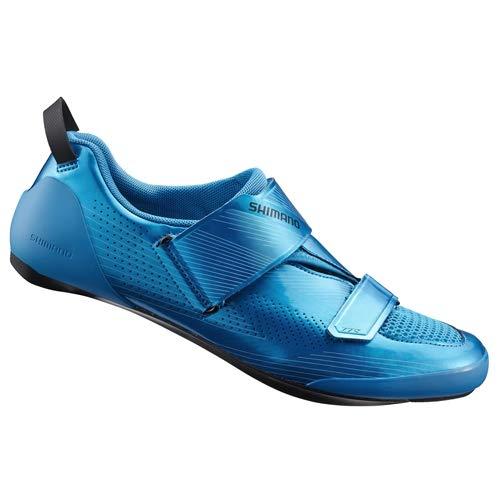 SHIMANO SH-TR9 Zapatos De Bicicleta Azul 2021 Zapatos De Ciclismo, color Azul, talla 42 EU